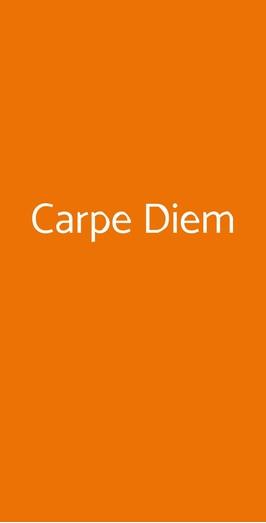 Carpe Diem, Roma