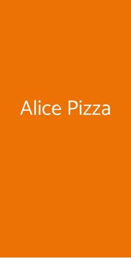 Alice Pizza, Roma