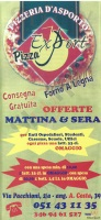 Export Pizza, Bologna