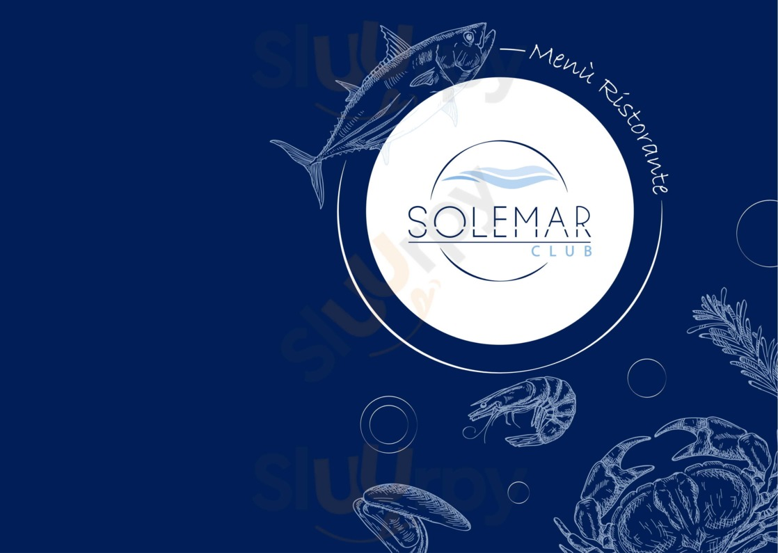 Menu Solemar Club