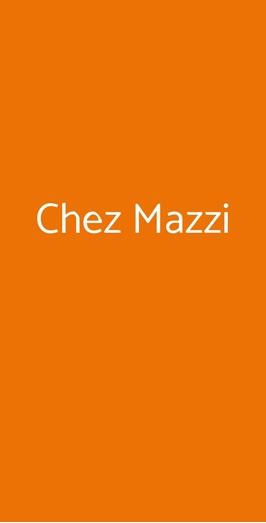 Chez Mazzi, Roma
