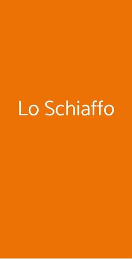 Lo Schiaffo, Anagni