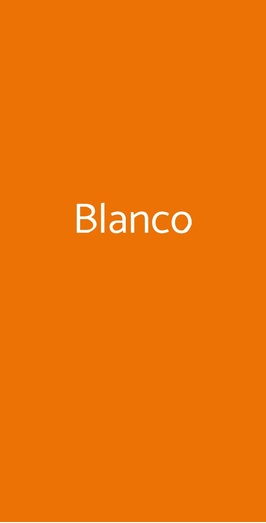 Blanco, Roma