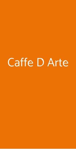 Caffe D Arte, Roma