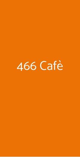 466 Cafè, Roma