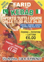 Farid Kebab, Firenze