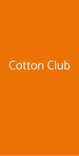 Cotton Club, Roma