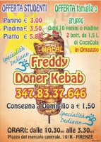 Freddy Doner Kebab, Firenze