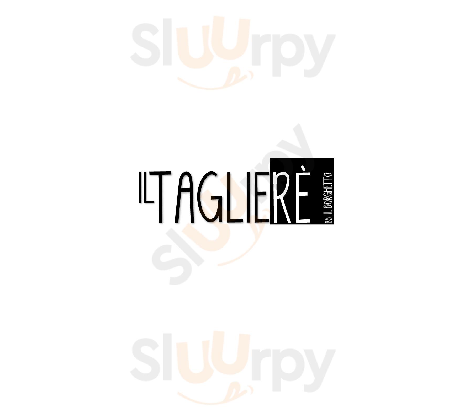 Il TaglieRE Reggio Emilia menù 1 pagina