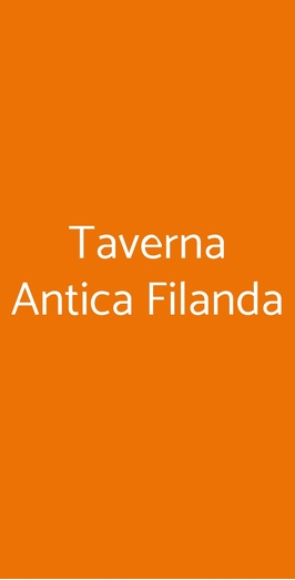 Taverna Antica Filanda, Pellezzano