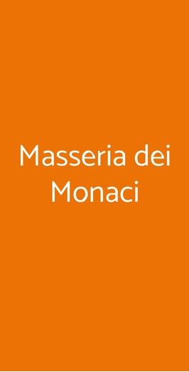 Masseria Dei Monaci, San Potito Sannitico