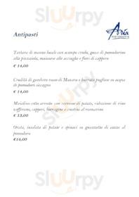 Aria Ristorante, Caltanissetta