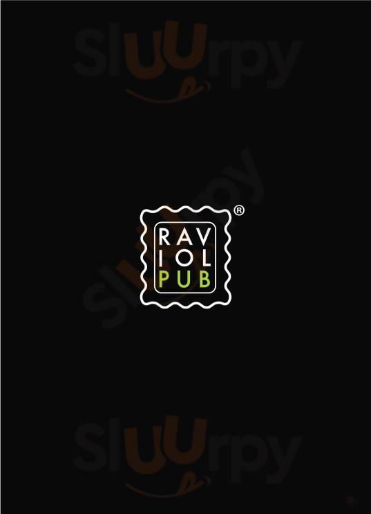 RaviolPub Borghetto di Borbera menù 1 pagina