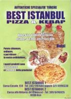 Menu BEST ISTANBUL 2
