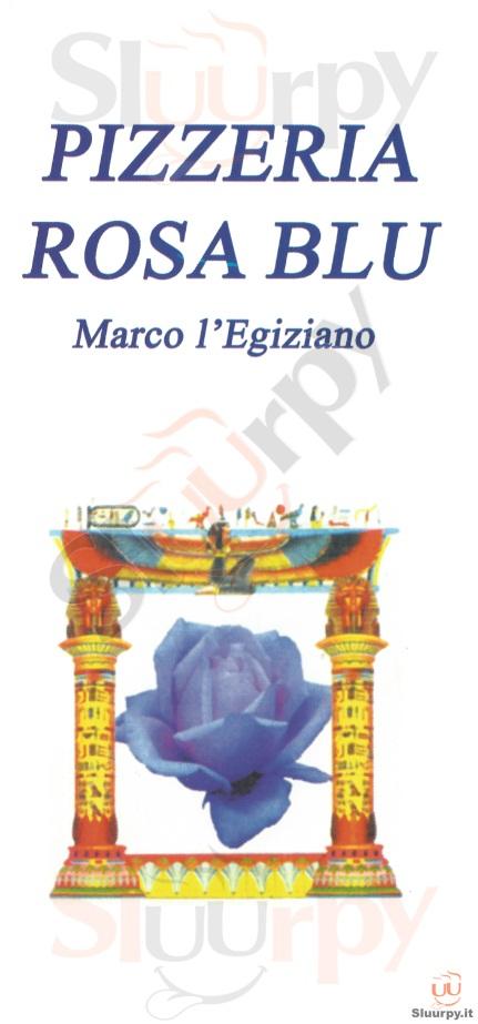 ROSA BLU, Corso Ferraris Asti menù 1 pagina