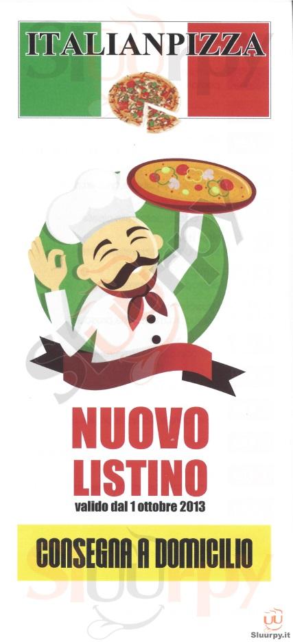 ITALIANPIZZA Novara menù 1 pagina