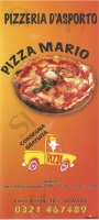 Menu PIZZA MARIO