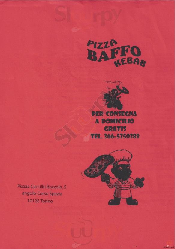 BAFFO Torino menù 1 pagina