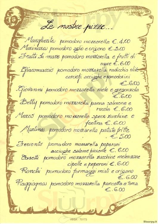 IL GIACOMACCIO Boccioleto menù 1 pagina