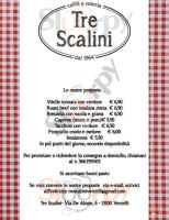 Menu TRE SCALINI