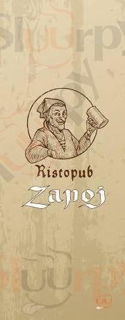 ZAPOJ RISTOPUB Foggia menù 1 pagina