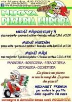 Foto del menù di NUOVA PIZZERIA EUROPA