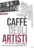 Menu CAFFE' DEGLI ARTISTI