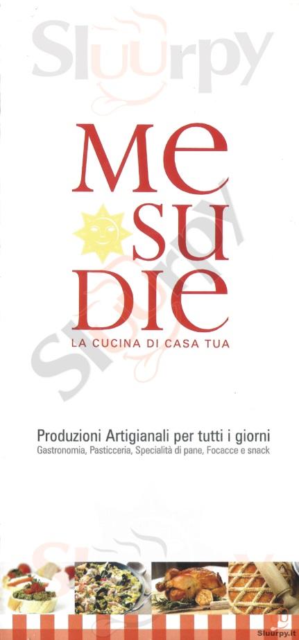 MESUDIE Cagliari menù 1 pagina