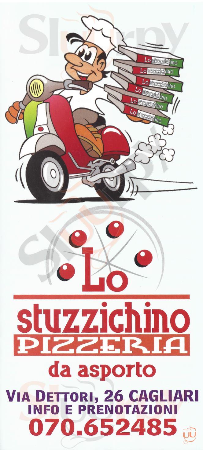 LO STUZZICHINO Cagliari menù 1 pagina