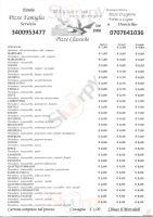 La Terrazza a Sinnai: Menù originale con Prezzi