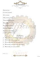 Menu OFFICINA DEL GUSTO