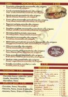 Menu PIZZA AND WAFFLE