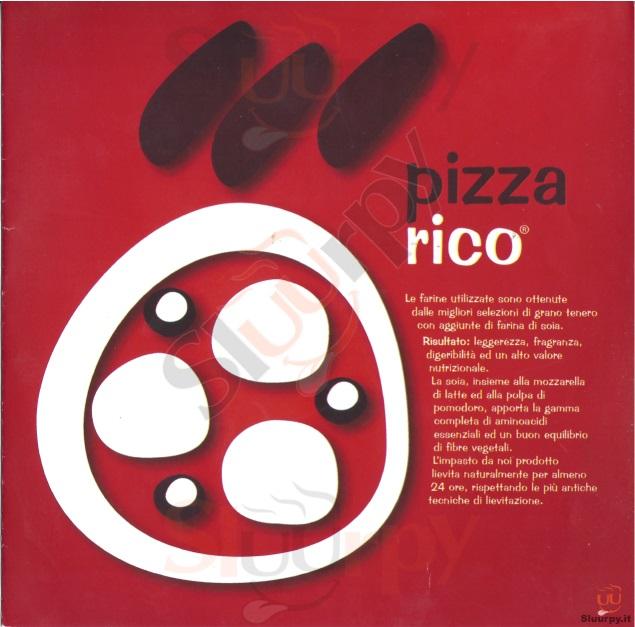 PIZZA RICO Catania menù 1 pagina