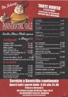 Menu PANINERIA DEL VIALE, Via Piave