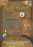 Foto del menù di POLLI E PIZZA MIGNON