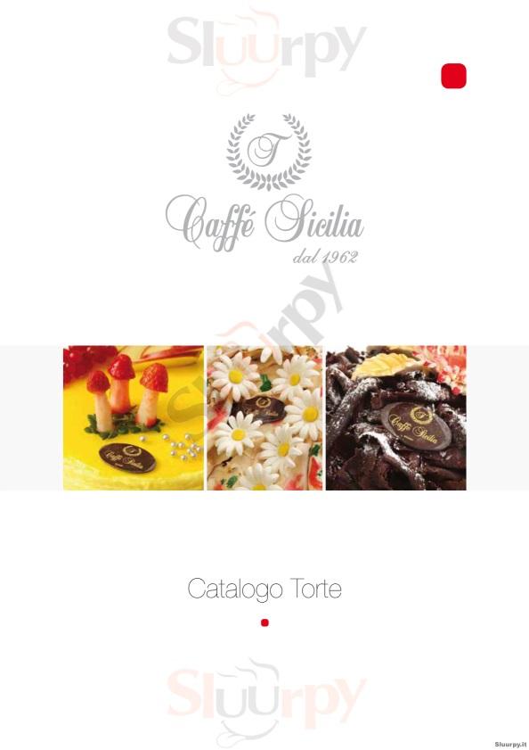 CAFFE SICILIA Ragusa menù 1 pagina