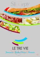 Foto del menù di LE TRE VIE, Via Rosa