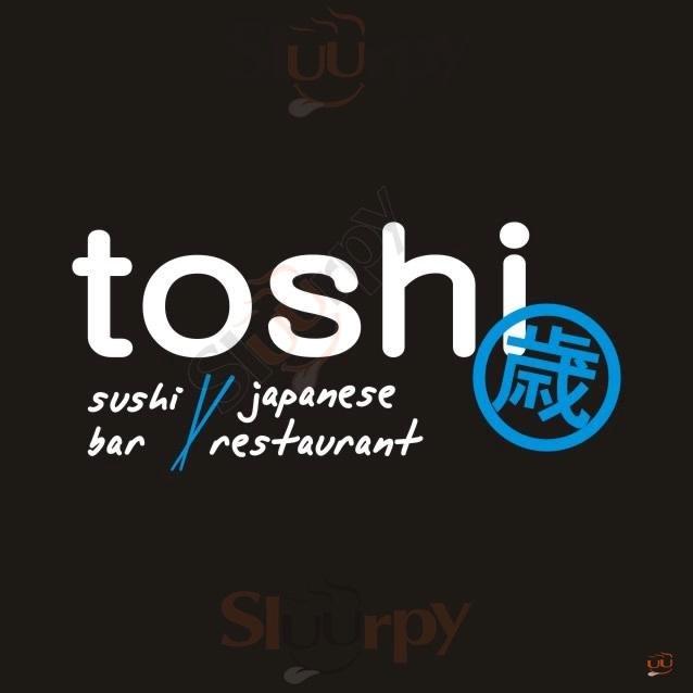 TOSHI Ragusa menù 1 pagina