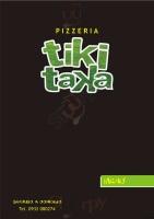 Foto del menù di TIKI TAKA