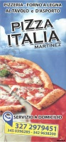 Menu PIZZA ITALIA