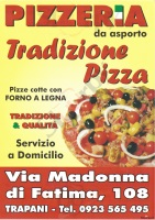 Foto del menù di TRADIZIONE PIZZA