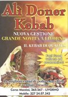 Menu ALI' DONER KEBAB