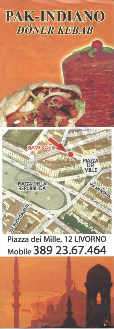 PAK-INDIANO Livorno menù 1 pagina