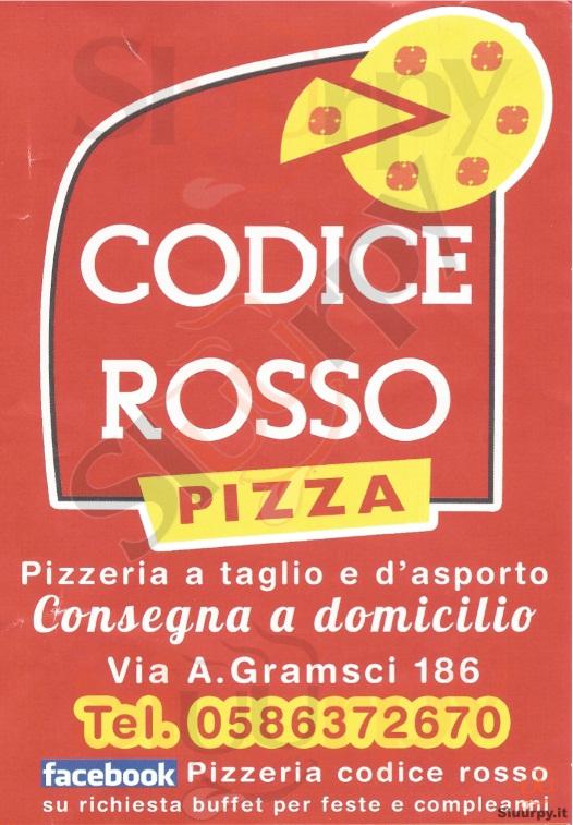 CODICE ROSSO Livorno menù 1 pagina