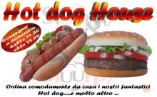 Menu HOT DOG HOUSE