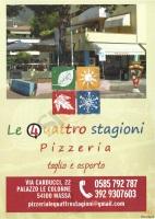 Foto del menù di LE QUATTRO STAGIONI