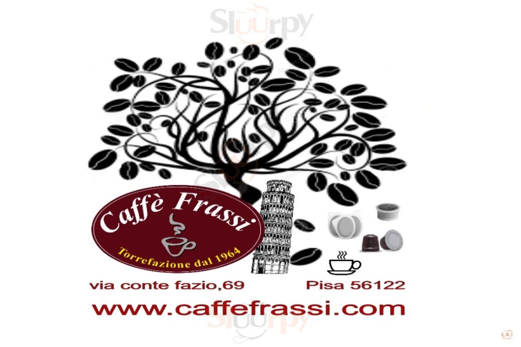 Caffè Frassi Pisa menù 1 pagina