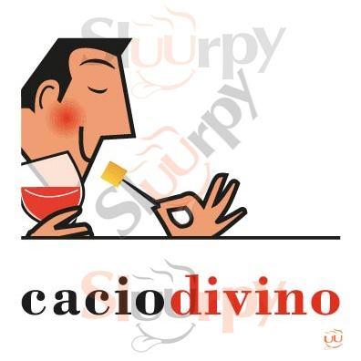 CACIO DIVINO Pistoia menù 1 pagina
