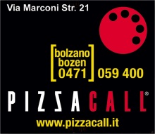 Menu PIZZA CALL