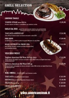 "Menu AMERICAN STEAK HOUSE ""Fast"""